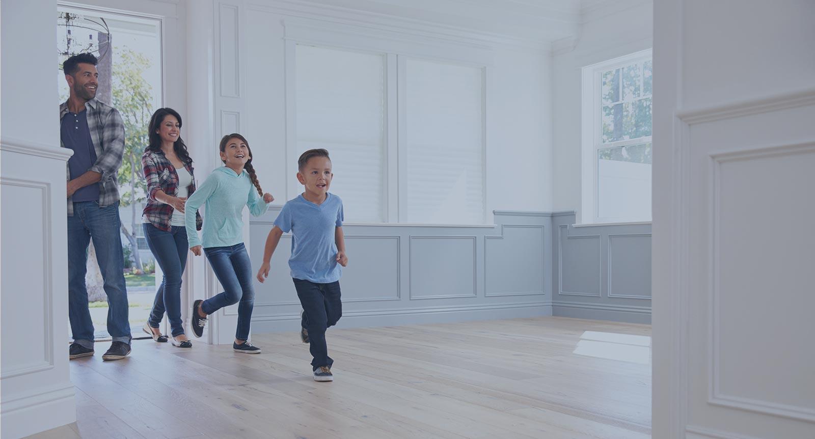 Family Walking Slim Hero